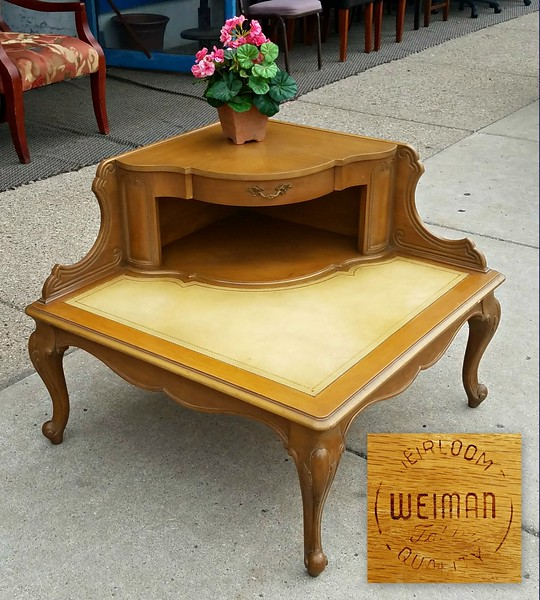 Vintage Double Deck Coffee Table
