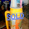 Rare Gigantic German Beer Stein in Excellent Condition.  9 x 35.  <b>$450</b>