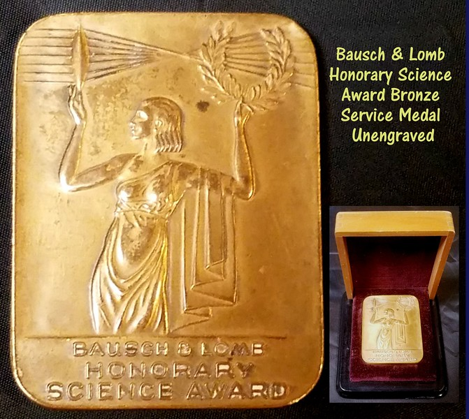 Bausch and Lomb Award Medal