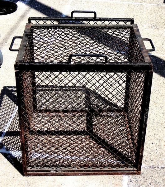 Heavy Duty Steel Monkey Cage.  30 x 25 x 29.  <b>$400</b>