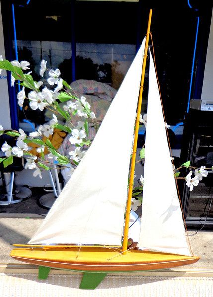 Authentic Sailboat Scale Model.  <b>$150</b>