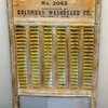 "Vintage ""Travel"" Washboard Made by Columbus Washboard Co.  13 x 24.  <b>$20</b>"