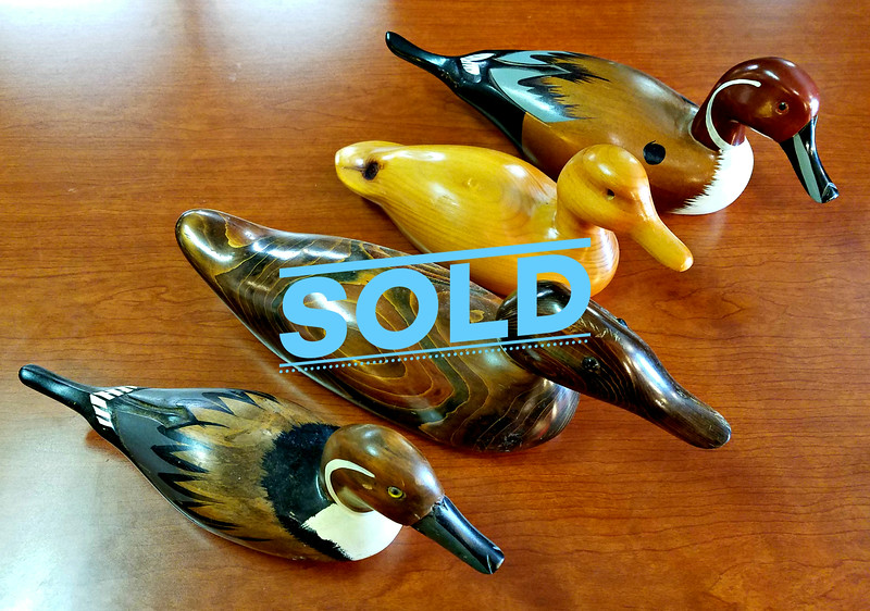 Wood Decor Ducks