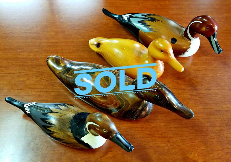 Wood Decor Ducks