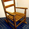 Antique Solid Wood Mini Doll Rocker.  16 x 22 x 24.  <b>$50</b>