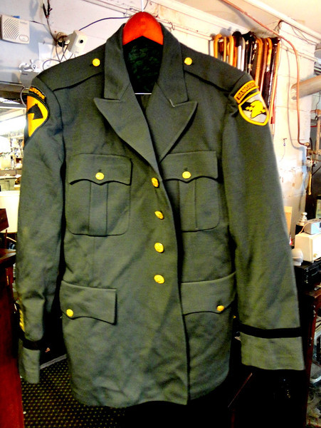 US Airborne Ranger Uniform.  Includes slacks. <b>$50</b>