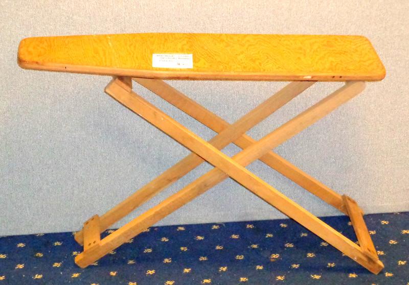 Unique Vintage Children's Solid Wood Ironing Board.  28 x 8 x 19.  <b>$25</b>