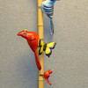 Assorted Clamp Mount Birds & Butterflies.  <b>Make A Fair Offer.</b>
