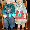 Grandma and Grandpa Porcelain Dolls