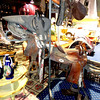 3 Tier Swinging Metal Saddle Rack.  <b>$115</B>
