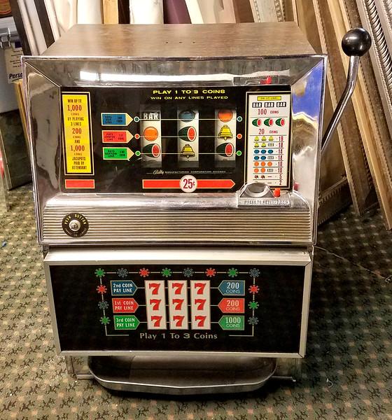 1950's Bally Quarter Slot Machine