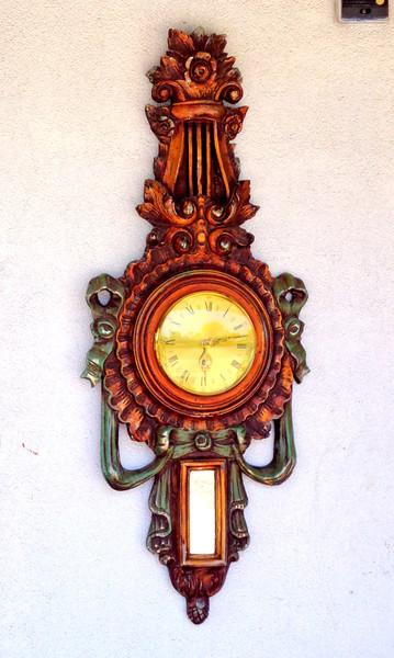 Unique Clocck / Wall Mirror.  18 x 41.  <b>$95</b>