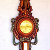 Unique Clocck / Wall Mirror.  18 x 41.  <b>$95</b>