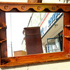 Mirrored Dresser Hutch.  54 x 7 x 40.  <b>$40</b>