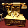French Provincial Telephone.  8 x 6 1/2 x 9.  <b>$85</b>