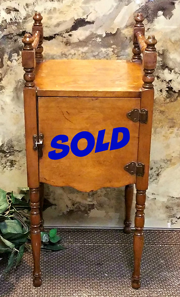 Antique Humidor Cabinet