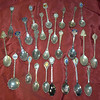 Collection Of Souvenir Spoons From Various States.  Come in, take a look and make a fair offer for one or all.