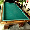 Antique Billiard Table