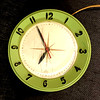 Vintage Electric Wall Clock