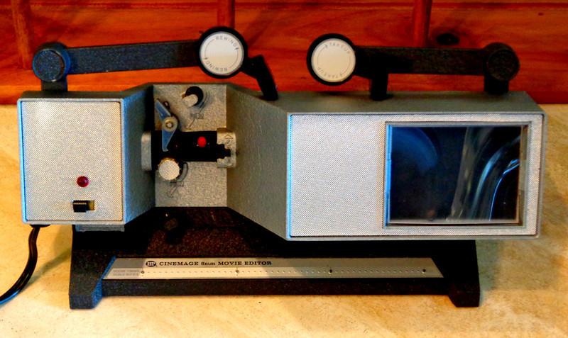 Vintage Cinemage 8mm Action Movie Editor.  <b>$45</b>