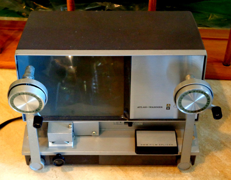 Vintage Atlas Warner Super 8 Editor Model 500 with Original Box.  <b>$45</b>