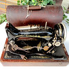 Vintage Singer Transportable Sewing Machine.  <b>$65</b>