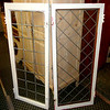 Collection of Vintage Leaded Glass Exterior Windows.  Several styles available.  24 x 1 3/4 x 57.  <b>$125 per window.</b>