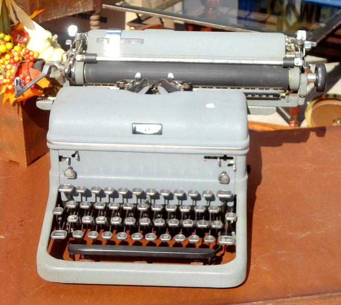 Vintage Royal Typewriter in Good Working Condition.  <b>$75</b>