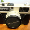 Rare Bell & Howell Auto 35/2.8 1969-1973 35mm Rangefinder Camera.  Made by Canon.  Based on the Canonet 28.  <b>$75</b>