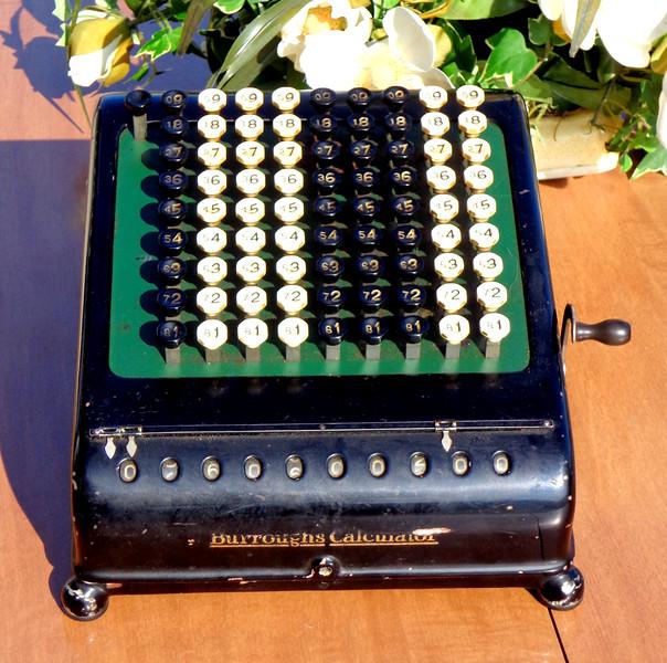 Vintage Burroughs Calculator