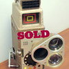 Hard-to-Find Vintage Bell & Howell Model 333 8MM Home Movie Camera.  <b>$50</b>