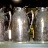 Vintage Hormel Vacuum Glass Lined Carafes (3402SAJ). 40oz capacity.  Stainless steel.  <b>$15 each.</b>