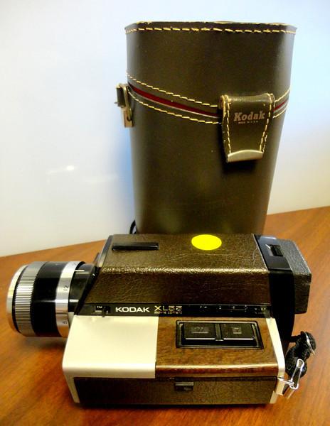 Vintage Kodak XL 55 Movie Camera with Case.  <b>$25</b>