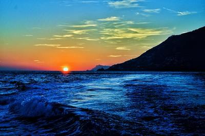 """Next Stop Salerno"" - Amalfi Coast - Italia"