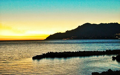 """Salerno by Sunset"" - Salerno, Italia"