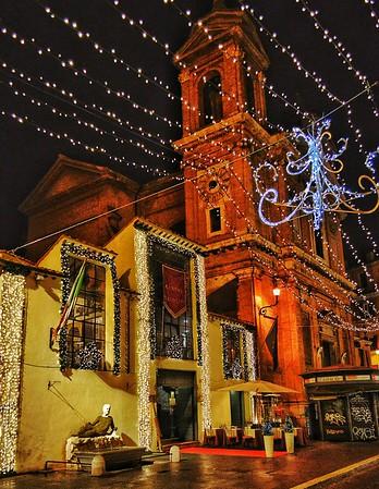 """""""Babuino at Christmas"""" - Roma"""