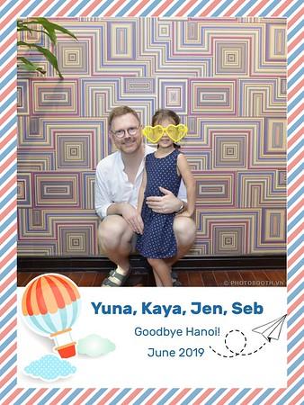 Goodbye Party @ Villa Eatalia Ha Noi - instant print photo booth in Ha Noi - in ảnh lấy ngay Tiệc chia tay tại Hà Nội