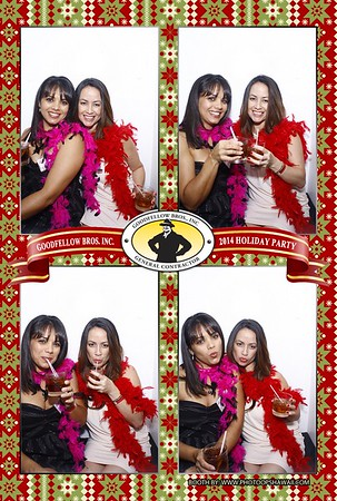 Goodfellow Bros. Holiday Party 2014 (Luxe Photo Booth)