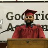 Scenes from the Goodrich Academy Class of 2018 graduation on Thursday 31, 2018 at the Fitchburg High School field house. Student Angel Reveron was one of the student speakers at the ceremony. SENTINEL & ENTERPRISE/JOHN LOVE