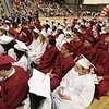 Scenes from the Goodrich Academy Class of 2018 graduation on Thursday 31, 2018 at the Fitchburg High School field house. SENTINEL & ENTERPRISE/JOHN LOVE