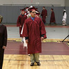 Scenes from the Fitchburg Goodrich Academy graduation at Fitchburg High School on Thursday June 1, 2017. The graduates march into the FHS field house at the start of the ceremony. SENTINEL & ENTERPRISE/JOHN LOVE