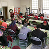 Fitchburg's Goodrich Academy held a holiday party for it students on Wednesday, Dec. 18, 2019. SENTINEL & ENTERPRISE/JOHN LOVE
