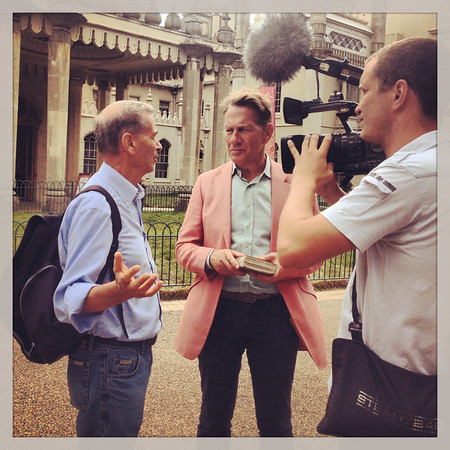 Michael Portillo at The Brighton Pavillion