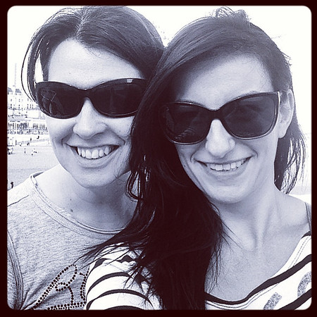 Me & Kit Kat on Brighton Pier