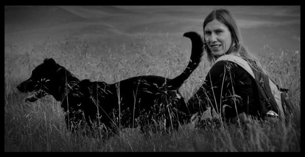 Mary & Vinnie - Mam Tor, Castleton  - July 2010