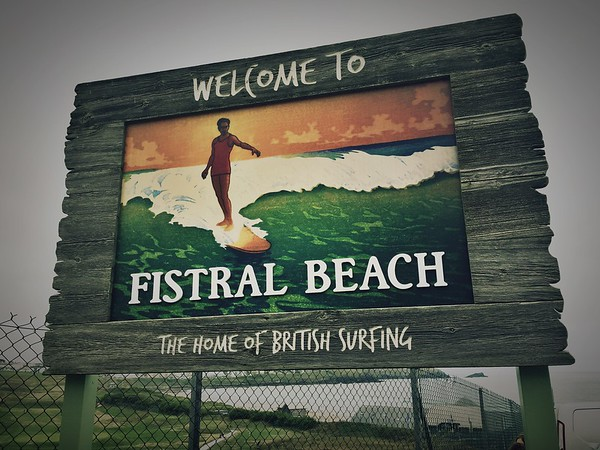 Welcome to Fistral Beach