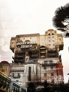 The Hollywood Tower Hotel Ride at Walt Disney Studios