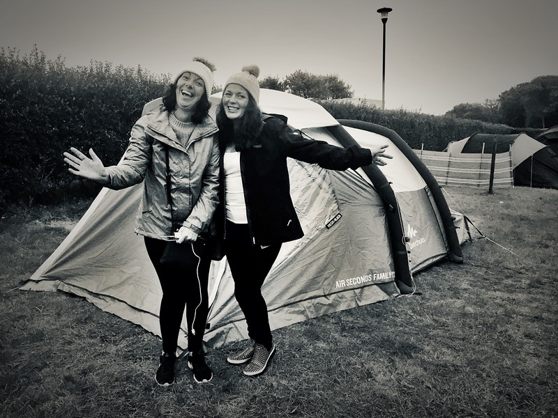 Camping Ladies