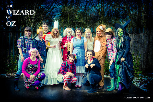 St. Mary's School Staff on World Book Day 2018