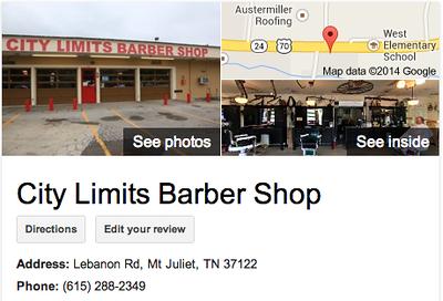 City Limits Barber Shop